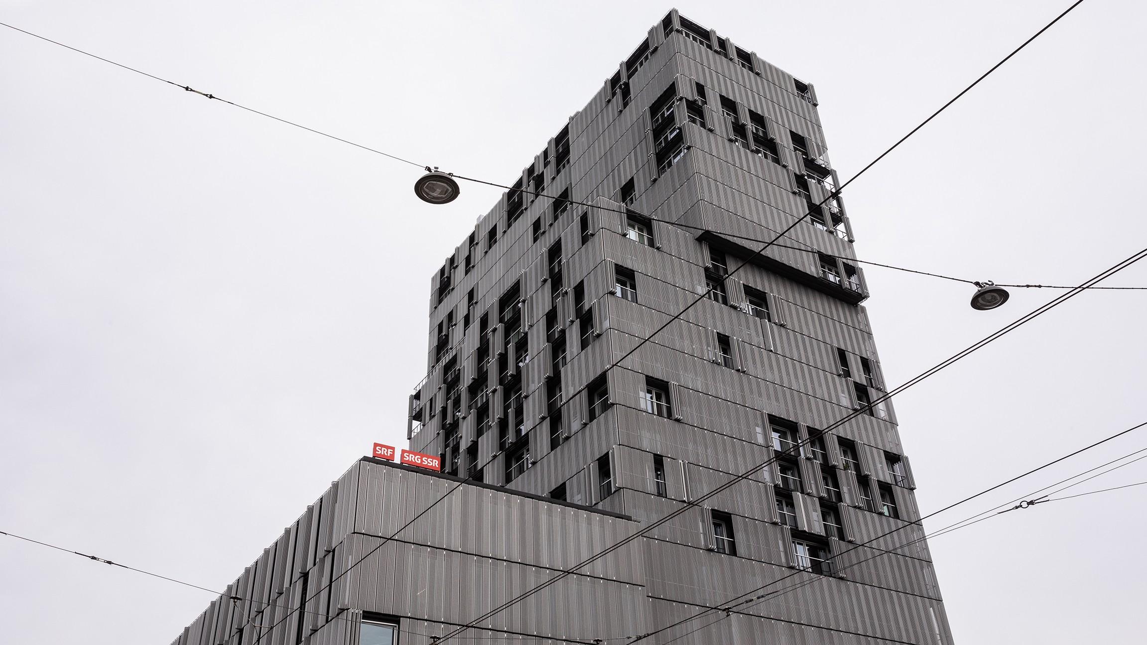 Meret Oppenheim Hochhaus Basel  SRF/Matthias Willi