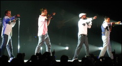 Backstreet Boys - © Anirudh Koul from Montreal, Canada (05.08.2008)