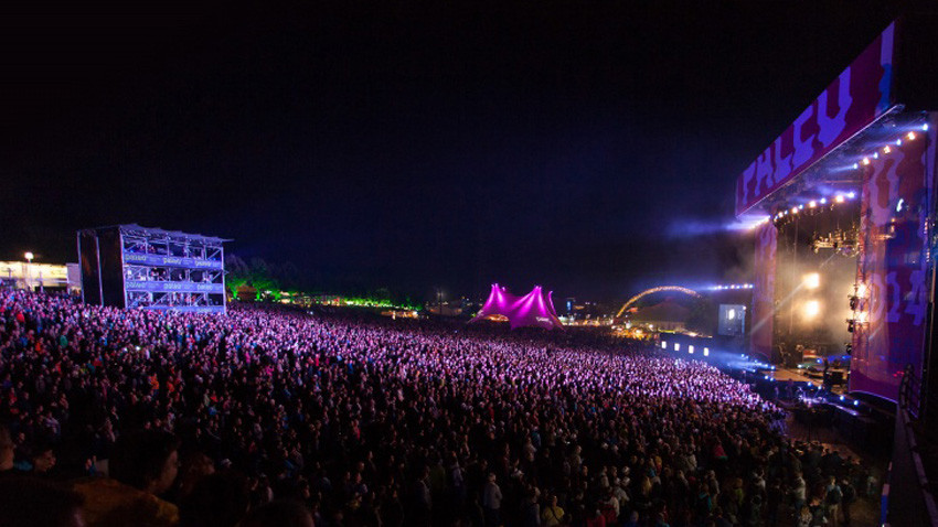 Paléo, le plus grand festival de Suisse. - Source : Official
