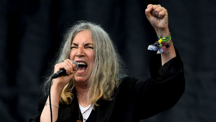 Patti Smith - Source: Reuters/Dylan Martinez